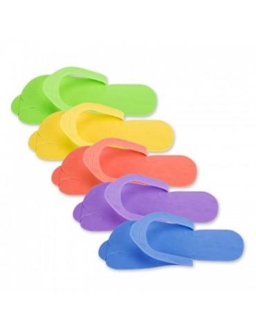 Papuci pedichiura - set 5 buc