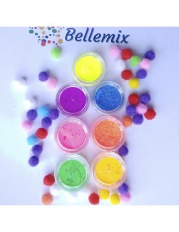 Pigment neon - set 7 culori