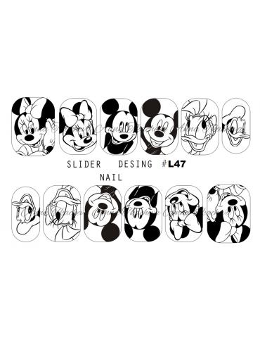 Tatuaj simplu L47