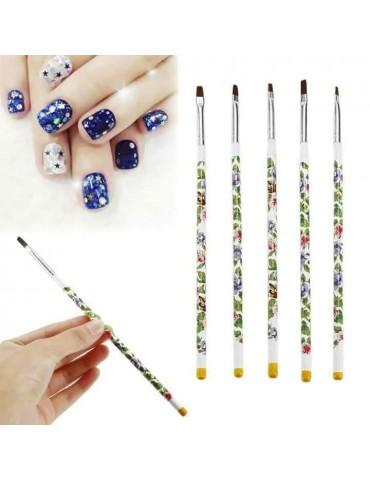 Set 5 pensule manichiura -...