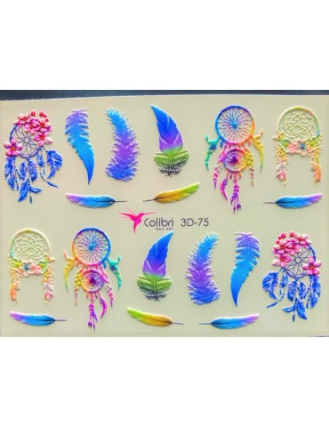 Tatuaj 3D Colibri - 75